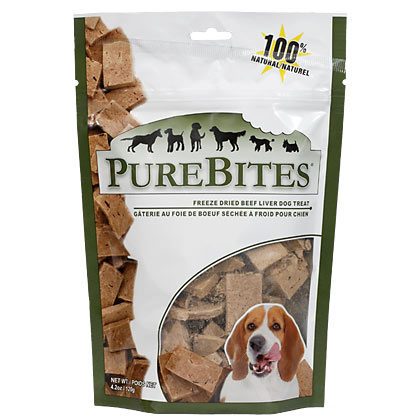 Image of PureBites Freeze-Dried Dog Treats Beef Liver 4.2oz by 1-800-PetMeds