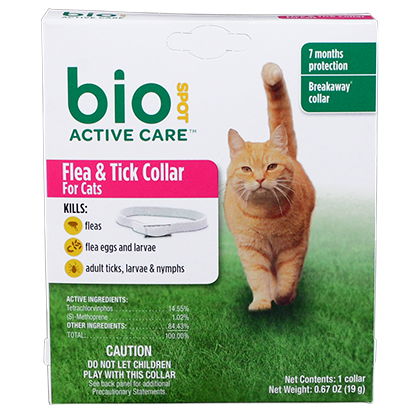 Bio Spot Flea & Tick Collar For Cats (Click for Larger Image)