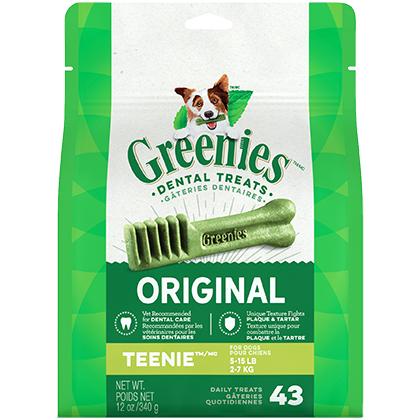 Greenies Dental Treats 12 oz Teenie 43 Treats  by S & M N...