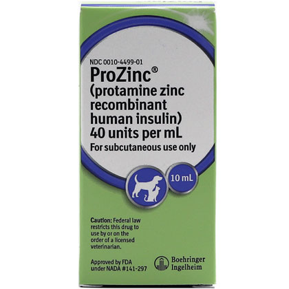 ProZinc Cat Insulin (Click for Larger Image)
