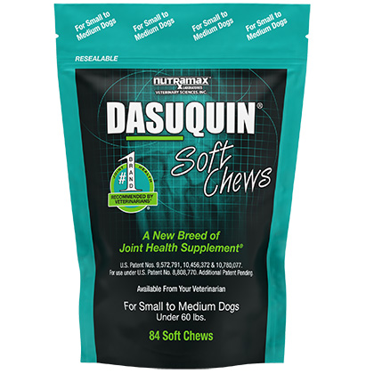 Dasuquin Soft Chews For Dogs Sm/ Med Under 60lb 84 ct