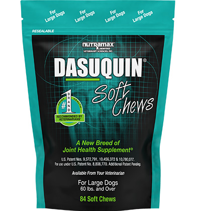 Dasuquin Soft Chews For Dogs Lg 60lbs & Over 84 ct