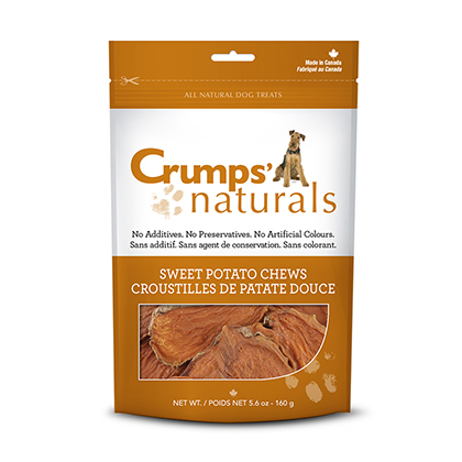 Crumps' Naturals Sweet Potato Chews (Click for Larger Image)