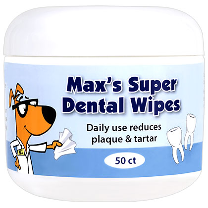 Max's Super Dental Wipes (Click for Larger Image)