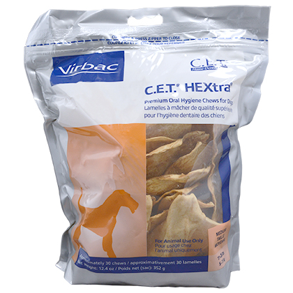 C E T  HEXtra Premium Chews Medium 30 count