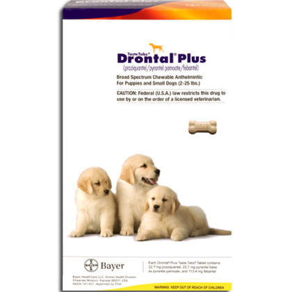 Wormers Medication, Drontal Plus 22.7 mg (sold per tablet)