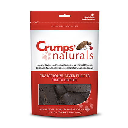 Crumps' Naturals Traditional Liver Fillets (Click for Larger Image)