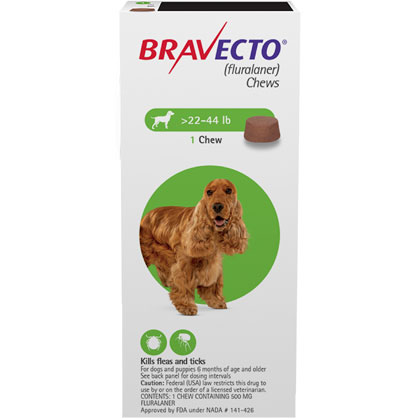 picture relating to Bravecto Printable Coupons titled Bravecto Chews 2 Dose Medium Puppy 22-44lb