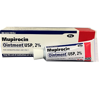 Mupirocin Ointment (Click for Larger Image)