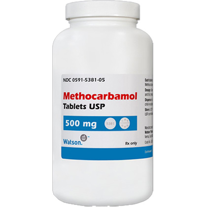 Methocarbamol (Click for Larger Image)