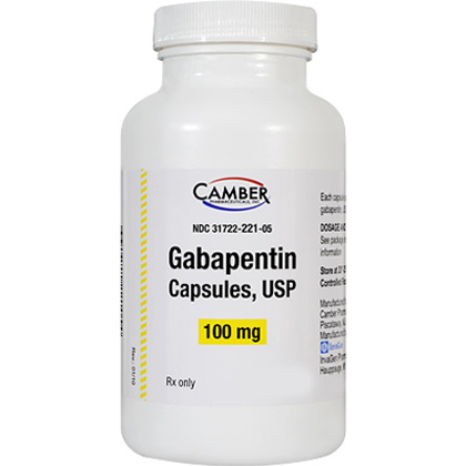 Gabapentin Caps 100mg (sold per capsule)