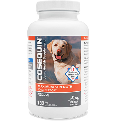 Cosequin DS Chewables Plus MSM 132 ct