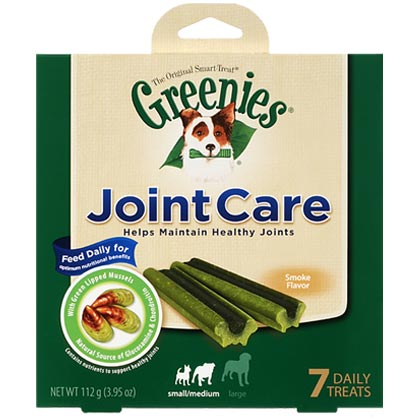 Greenies JointCare Dog Treats (Click for Larger Image)