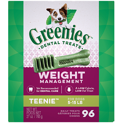 Greenies Weight Management Dental Chews (Click for Larger Image)
