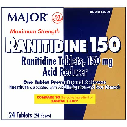 Ranitidine (Click for Larger Image)