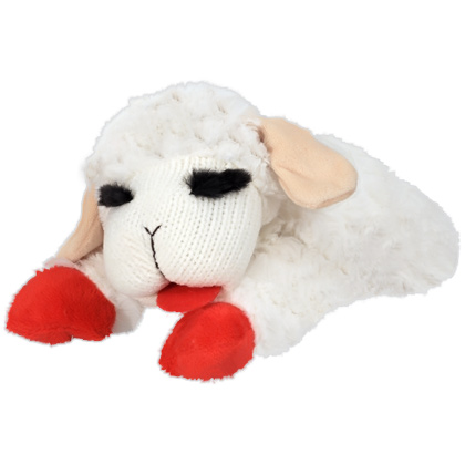Lamb Chop Dog Toy  (Click for Larger Image)