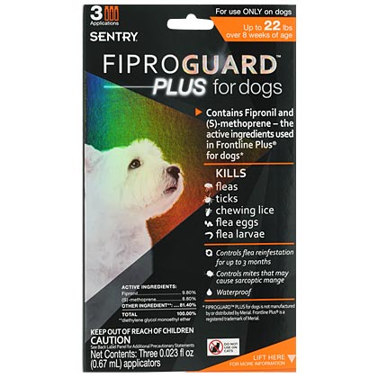 Fiproguard Plus Dog - Generic To Frontline Plus (Click for Larger Image)