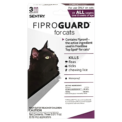 Fiproguard Cat-Do not use (Click for Larger Image)