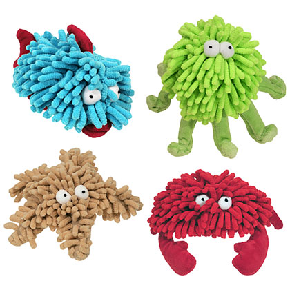 Sea Shammies Plush Dog Toy (Click for Larger Image)