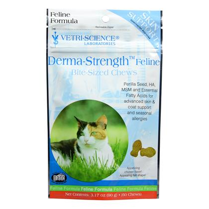 Derma-Strength Feline Bite-Sized Chews (Click for Larger Image)