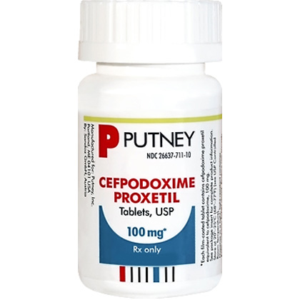 Cefpodoxime Proxetil  (Click for Larger Image)