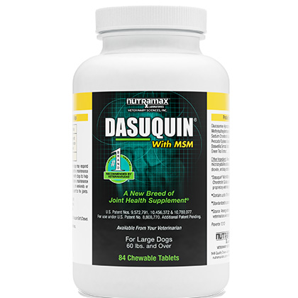 Dasuquin with MSM for Dogs Over 60 lbs 84 ct