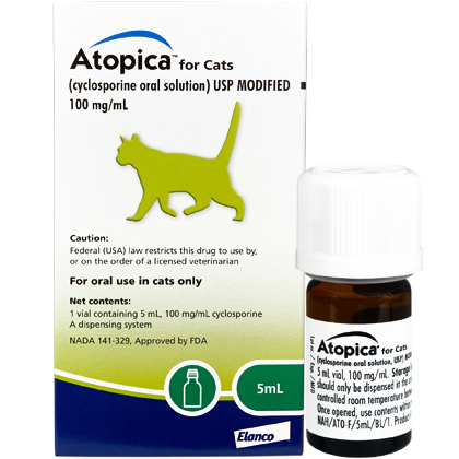 Atopica For Cats (Click for Larger Image)