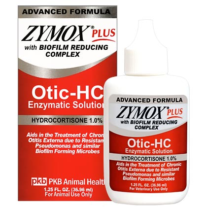 Zymox Plus Otic-HC Enzymatic Solution (Click for Larger Image)