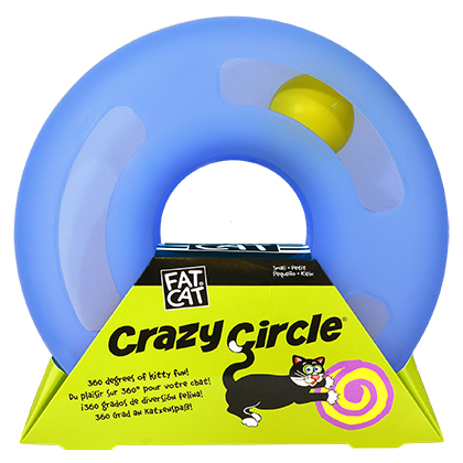 Crazy Circle Interactive Cat Toy (Click for Larger Image)