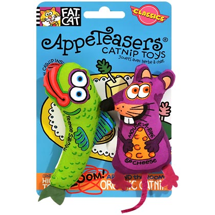 AppeTeasers Plush Catnip Cat Toy (Click for Larger Image)