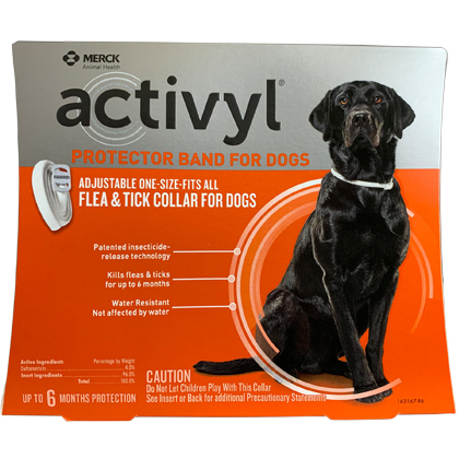 Image of Activyl Protector Band for Dogs - 6 Month Protection Qty 2