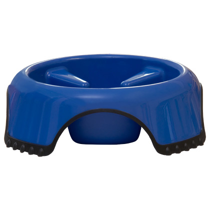 Slow Feed Non-Skid Dog Bowl (Click for Larger Image)