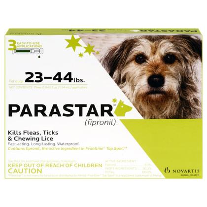 Parastar for Dogs 3pk 23-44 lbs  by NOVARTIS