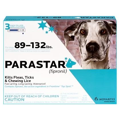 Parastar for Dogs 6pk 89-132 lbs  by NOVARTIS