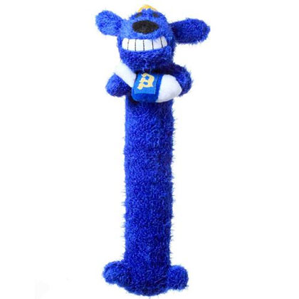 Loofa Hanukkah Dog Toy (Click for Larger Image)