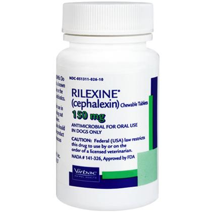 Rilexine Chewable Tablets Canine Pyoderma Treatment