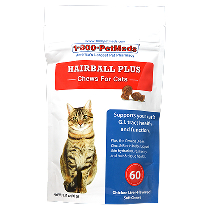 Hairball Plus Chews for Cats (Click for Larger Image)