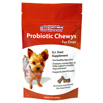 Probiotic Chewys For Dogs (Click for Larger Image)