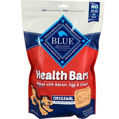 Blue Buffalo Health Bars Dog Treats (Click for Larger Image)
