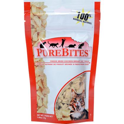 Image of PureBites Freeze-Dried Cat Treats Chicken 1.09 oz by 1-800-PetMeds