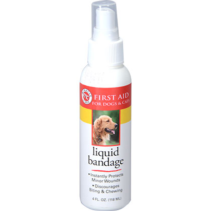 Miracle Care Liquid Bandage Spray for Dogs and Cats (Click for Larger Image)
