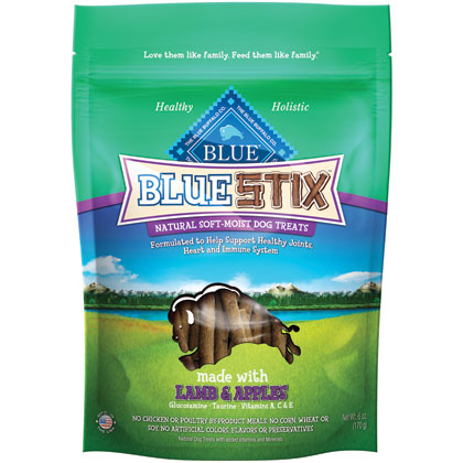 Blue Buffalo Stix Dog Treats Lamb & Apple 6 oz by Summit photo
