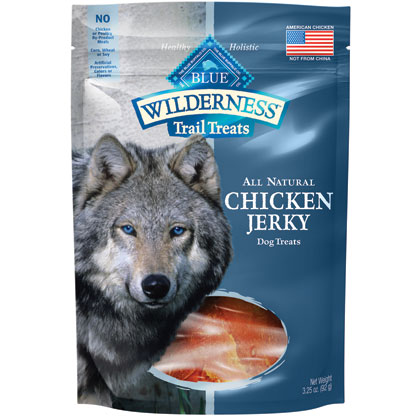 Blue Buffalo Wilderness Jerky Dog Treats (Click for Larger Image)