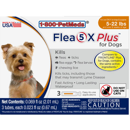 Flea4X PLUS for Dogs