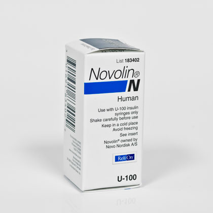 Novolin N 100 Units/ml 10 ml Vial
