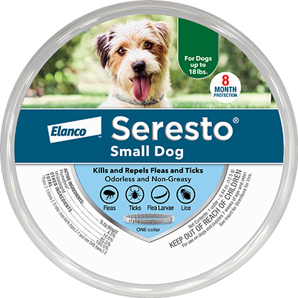 Seresto For Small Dogs (7 weeks & older, 15 collar length)