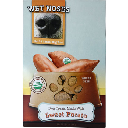 Wet Noses All-Natural Organic Dog Treats (Click for Larger Image)