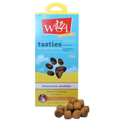 Tasties Bite-Sized Baked Treats for Dogs by Wigzi