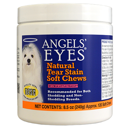 Angels' Eyes Natural Tear Stain Soft Chews (Click for Larger Image)