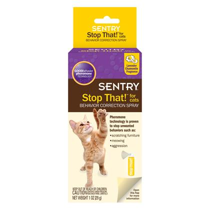 Sentry Stop That Behavior Correction Spray for cats by Sargeant's